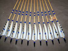 12  CEDAR  TRADITIONAL WOOD ARROWS  45/50, 50/55 55/60  YOU PICK SPINE  USA