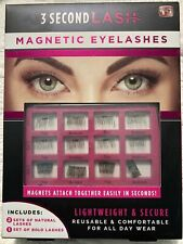 3 Second Lash Magnetic Eyelashes As Seen On Tv New & Sealed