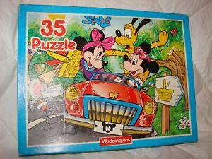 1990 Waddingtons Walt Disney 35 Piece Jigsaw Puzzle