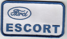 FORD ESCORT EMBROIDERED PATCH
