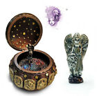 D35 Retro Style Resin Leo Music Box Home Decorative Birthday Present Gift