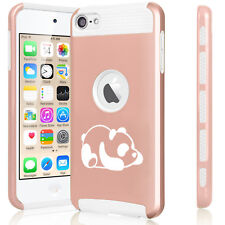 For Apple iPod Touch 5th 6th Shockproof Hard Case Cover Lazy Panda
