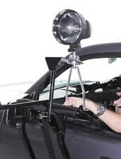Door Mounted Shooting Rest, Spotlight Mount & Handle - Hunting Window Shoot Car