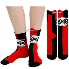NEW DC Comics Batman Joker Harley Quinn Kawaii Ankle Socks Red Black 1 Pair NWT