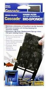 Penn Plax Cascade 300 Power Filter  Bio-Sponge 2-Pack