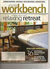 Workbench Magazine - October 2008 - Easy, Elegant Platform Bed - Rain Barrel
