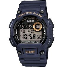 Casio W-735H-2AV Mens Super Illuminator Blue Digital Watch with Box Included