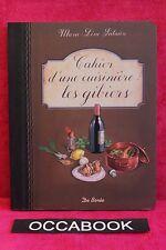Cahier d'une cuisinière les gibiers - Marie-Line Salaün - Livre - Occasion