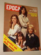 EPOCA=1977/1395=WERNHER VON BRAUN=MISTERO UFO=ROSARIA PANATTA=LE 4 ETA DONNA=