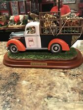 Auburn Tigers in the driver seat mascot Steve Ford figurine rare