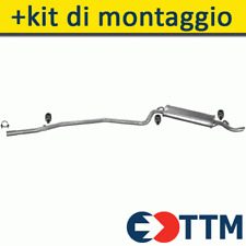 FIAT SEICENTO HATCHBACK 0.9 1.1 40/54HP 1998- Silenziatore Marmitta Posteriore+