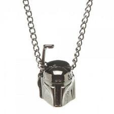 *NEW* Star Wars: Boba Fett 3D Gunmetal Necklace by Bioworld