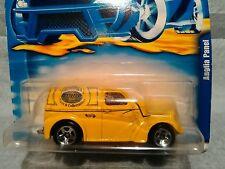Hot Wheels Anglia Panel Truck Diecast Yellow