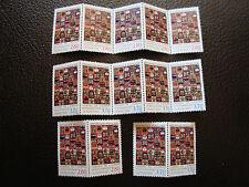 FRANCIA - sello yvert y tellier servicio nº 112 113 x7 N (A24) stamp french