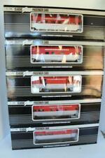 K-LINE TRAINS - FIVE CAR SCALE GOLDEN STATE ALUMINUM PASSENGER SET- NEW- D1B