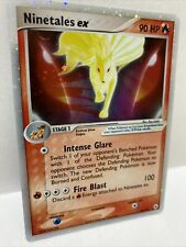 Ninetales EX 96/101  Hidden Legends Pokemon Card