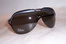 NEW CHRISTIAN DIOR SOLAR/S QWU-Y1 GOLD BLUE/GRAY SUNGLASSES AUTHENTIC