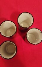 Vintage OMC Pottery Japan Cups Asian Decorative Tea Cup Set