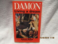 Vtg. Biography Book Damon: Living A Dream Signed by Bailey To Ed Indiana Hoosier