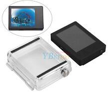 Écran LCD display Viewer non tactile Boîtier étanche Backdoor pour GoPro Hero4 3