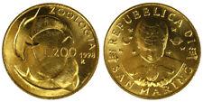 200 Lire 1998 Zoologia San Marino §881