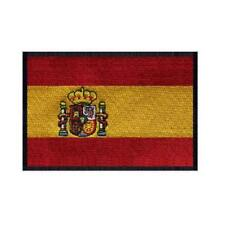 """SPAIN FLAG IRON ON PATCH 3"""" Embroidered Applique Spanish Pride National Emblem"""