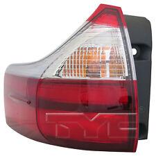 15-15 Toyota Sienna Non-SE Quarter Tail Light Left Driver Side