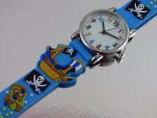 Schöne Piraten Kinderuhren für Jungen & Mädchen 3D Armband Uhr Kinderuhr NEU '18