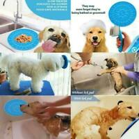 Pet Slow Feeder Dog Licking Mat Bone Pattern Interactive Available Perfect Serve