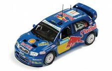 1/43 Red Bull Skoda Fabia WRC Rally Sweden 2005  M.Ekstrom - some lid damage