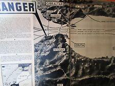 MATCH an 1939 / TANGER, CRUSSAC (12), Femmes à barbe, ALCATRAZ, Légion d'Honneur