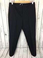 TAHARI Black Dress Pants Size 8 Work Career H2