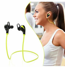 Sports Wireless Bluetooth Stereo Headset Mic Phones Headphones For Android iOS