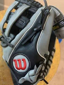 Wilson A500 Baseball Glove 12.5 Back And Grey Mlb Authentic