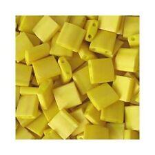 Tila Seed Beads Miyuki Square Opaque Dandalion Yellow TL2311 (7.2gr)  2 Hole