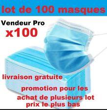 Lot  100 masque mask promo livraison rapide