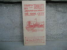 Vintage Old Colony Street Railway Trolley Trips Around The Shoe City
