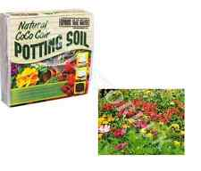 NATURAL CoCo COIR POTTING SOIL EXPAND UP TO 10L PEAT FREE INDOOR & OUTDOOR HY004