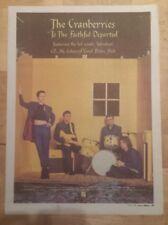 Preiselbeeren Faithful departed 1996 Presseanzeige komplette Page 30 x 42cm