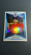 AARON BATES 2008 BOWMAN CHROME REFRACTOR SERIAL # 312/599 CARD # BCP100 B1244