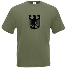 German Army Eagle Bundeswehr T-Shirt - Available In All Sizes Free Delivery