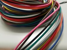 CHOICES 10 AUTOMOTIVE  WIRE 16 GAUGE  GXL TEN COLORS  25/' EACH STRIPED WITH 62