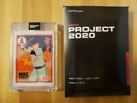 Topps Project 2020 Mike Trout #63 by Fucci with box IN HAND 2011 Topps Update