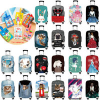 Elastic Travel Luggage Protective Cover Suitcase Dust-proof Protector 18-32 inch