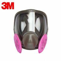3M 6900 Full Facepiece Reusable Respirator W/ 1 Pair of 2091 P1OO Filters LARGE