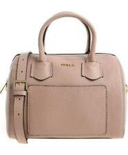 Furla 984378 B Bte3 HSF Leather Alba Small Satchel Bag Moonstone Pink