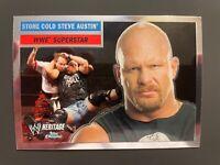 2006 Topps Chrome WWE Heritage Stone Cold Steve Austin card #11 🔥