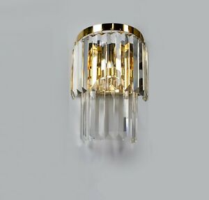 CRYSTAL SCONCE, Wall Sconces with Crystals, Wall Lamp, Wall Sconce