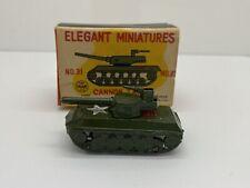 Vintage Linemar Elegant Miniatures Canon Tank No 31 with Box