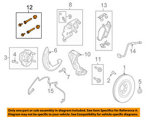 FORD OEM Brake-Front-Caliper Repair Kit 6L2Z2386A